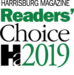 Harrisburg Magazine's Reader's Choice Award 2019